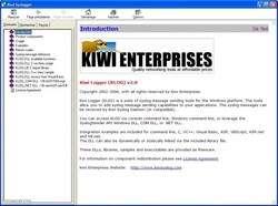 Kiwi Logger Screenshot