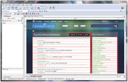 KompoZer Web Authoring Screenshot