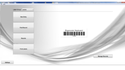 Label Flow Barcode Screenshot