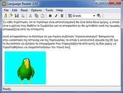 Language Reader Screenshot