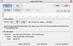 Leapic Audio Cutter Screenshot