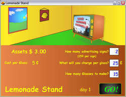 Lemonade Stand Screenshot