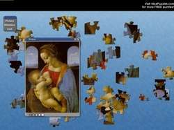 Leonardo Da Vinci Free Puzzle Game Screenshot