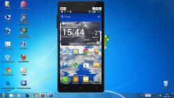 LG On Screen Phone Screenshot