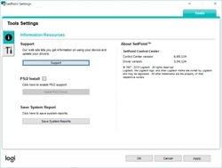 Logitech SetPoint Screenshot