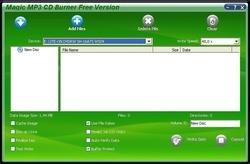 Magic Mp3 CD Burner Screenshot