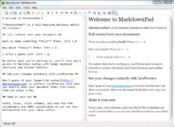 MarkdownPad Screenshot