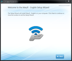 MaryFi Screenshot
