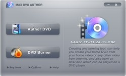 Max DVD Creator Screenshot
