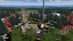 Maximum Roller Coaster Screenshot