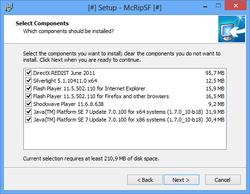 McRip SystemFiles Screenshot