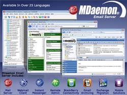 MDaemon Email Server for Windows Screenshot