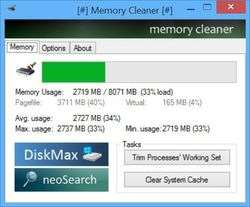 Memory Cleaner Screenshot