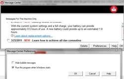 Message Center Plus Screenshot