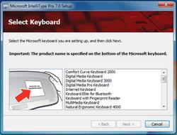 Microsoft IntelliPoint Screenshot