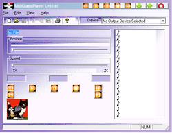 MidiGlassPlayer Screenshot
