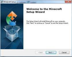 Minecraft Installer Screenshot