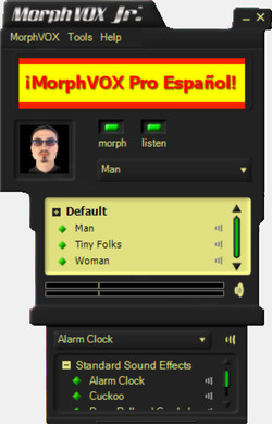 MorphVOX Junior Screenshot