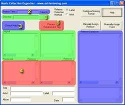 MP3 Collection Organizer Screenshot