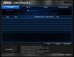 MSI Live Update - Download
