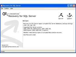 MSSQLRecovery Screenshot