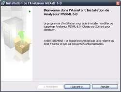 MSXML Screenshot