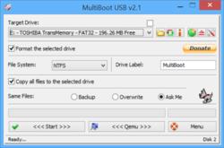 MultiBoot USB Screenshot