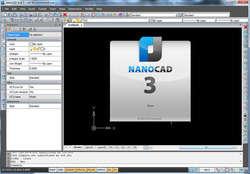 nanoCAD Screenshot