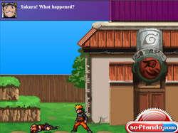 Naruto Game Screenshot