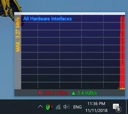 NetMeter EVO Screenshot