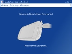 Nokia Software Recovery Tool Screenshot