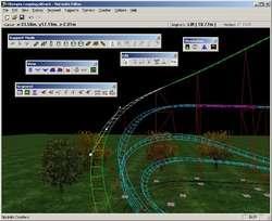 NoLimits Rollercoaster Simulator Screenshot