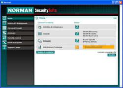 Norman Virus Control Screenshot