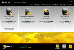 Norton 360 All-in-One Security Screenshot