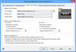 Notebook BatteryInfo Screenshot
