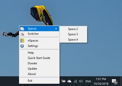 nSpaces Screenshot