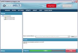 NTFS Undelete Screenshot