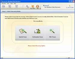 Nucleus Kernel FAT- Data Recovery Software Screenshot