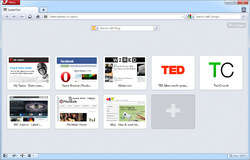 Opera Browser Screenshot