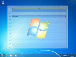 Outlook on the Desktop Screenshot