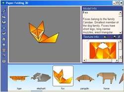 Paper Folding 3D Screenshot