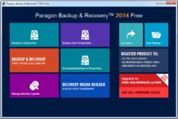 Paragon Backup Recovery Free Screenshot