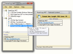 PasteCopy NET Screenshot