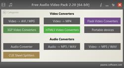 Pazera Video Converters Suite Screenshot