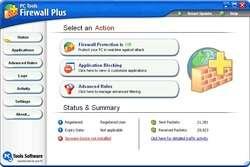 PC Tools Freeware Firewall Screenshot