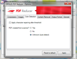 PDF Reducer Screenshot