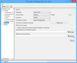 PDF Split and Merge Basic Screenshot