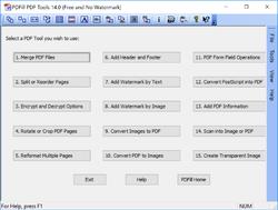 PDFill PDF Tools Screenshot