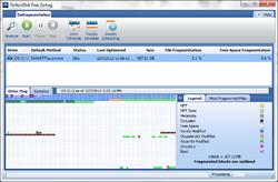 PerfectDisk Free Screenshot