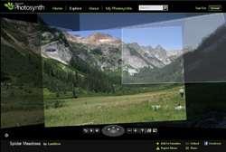 Photosynth Screenshot